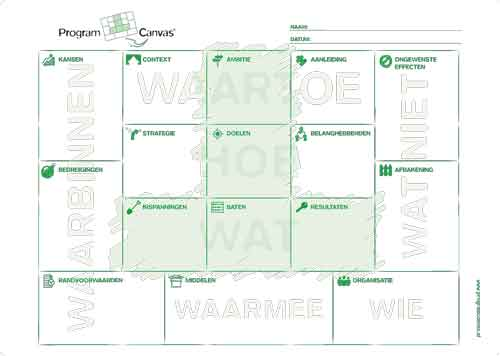 Poster Program Canvas bestellen